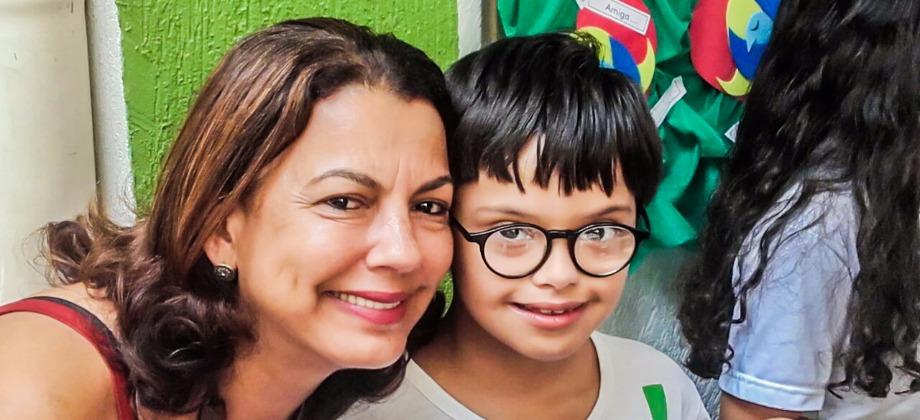 gabriel oliveira - síndrome de down