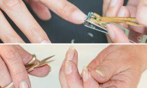 Cortador ou tesoura? Qual é a melhor opção para a saúde das unhas?